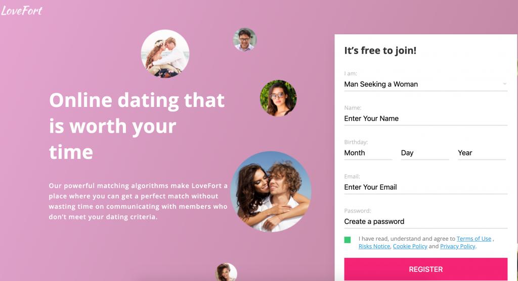 LoveFort Registration